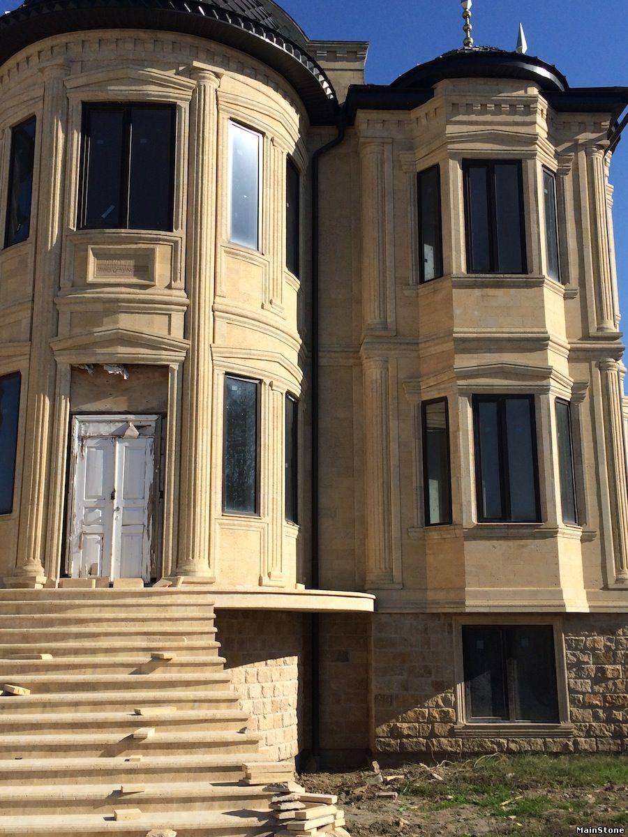 Двухэтажный кирпичный коттедж Проекты домов бесплатно